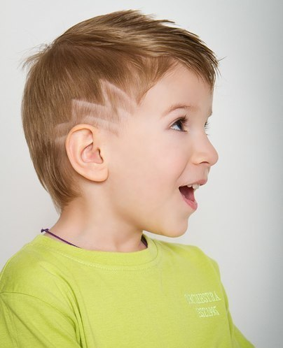 Corte de pelo para ninos hombres
